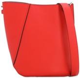 Lanvin Small Asymmetrical Leather Bucket Bag