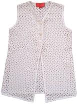 Ungaro Ecru Cotton Top for Women Vintage