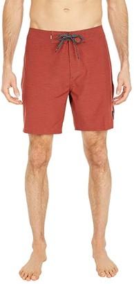Quiksilver Highline Piped 18 (Henna) Men's Swimwear