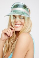 High Roller Vinyl Visor by Understated Leather at Free People
