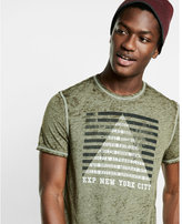 Express five districts burnout graphic t-shirt
