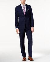 Lauren Ralph Lauren Men's Big & Tall Slim-Fit Navy Plaid Suit