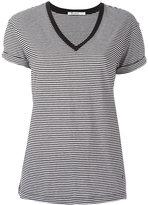 Alexander Wang V-neck T-shirt - women - Cotton - S