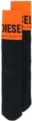 Diesel Terry logo socks