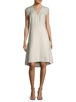 Ava & Aiden Women's Lace Up Midi Dress