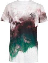 River Island Boys geo fade print T-shirt