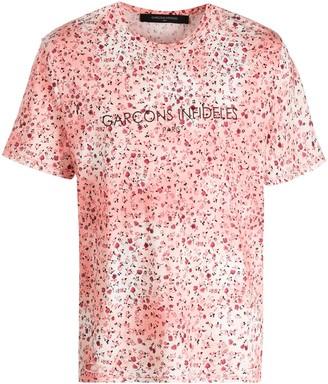 Garçons Infidèles floral print T-shirt