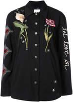 Cinq à Sept Botanical Canyen jacket