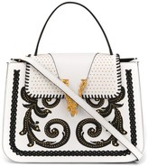 Versace Virtus Western top handle bag
