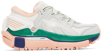 Li-Ning Beige and Pink Sunchaser Sneakers