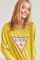 GUESS Logo Long-Sleeve Tee
