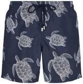 Vilebrequin Bleu Marine Moorea Swim Shorts