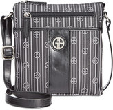 Giani Bernini Stripe Signature Crossbody, Only at Macy's