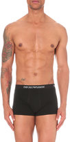 Emporio Armani Pack Of Two Cotton Trunks
