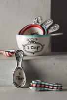 Anthropologie Molly Hatch Crowned Leaf Measuring Cups