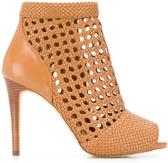 MICHAEL Michael Kors Caged Ankle Boots
