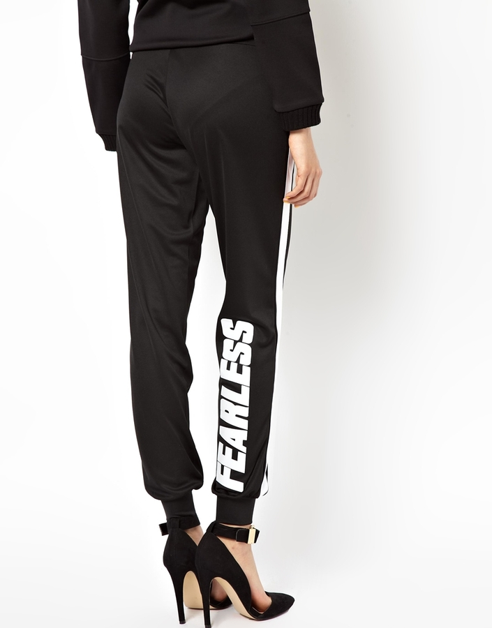 Asos Glam Joggers with Fearless Side Stripe