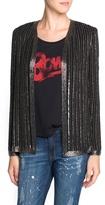 MANGO Outlet Beaded Chiffon Jacket