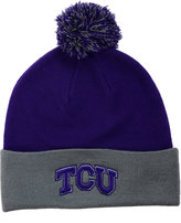Top of the World TCU Horned Frogs 2-Tone Pom Knit Hat