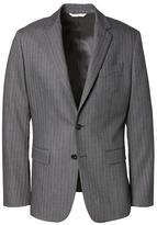 Banana Republic Heritage Slim Charcoal Herringbone Suit Jacket