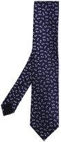 Lanvin fish pattern tie