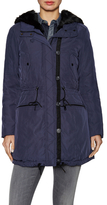 Andrew Marc Dee Faux Fur Lined Parka