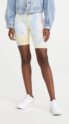 re:named apparel Tie Dye Biker Shorts