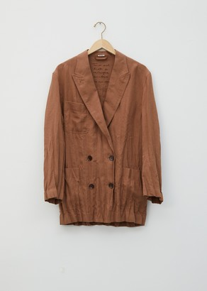 Acne Studios Jay Linen Suit Jacket
