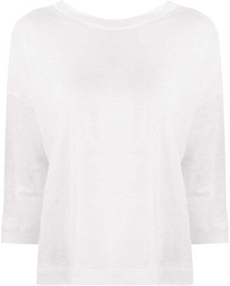 Forte Forte Loose-Fit Boat Neck Top