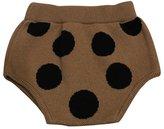 YOUJIA Unisex Boys Girls Knitted Shorts Soild Knitwear Warm Leggings (110cm)