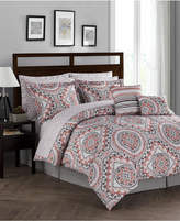 Jessica Sanders CLOSEOUT! Seville Reversible 12-Pc. Queen Comforter Set