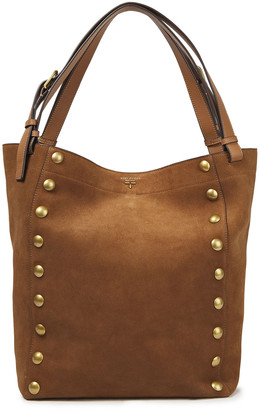Tory Burch Rowan Studded Suede Tote