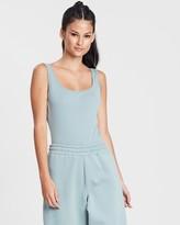 Missguided Square Neck Sleeveless Bodysuit