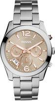 Fossil Women's Perfect Boyfriend Stainless Steel Bracelet Watch 39mm ES4146