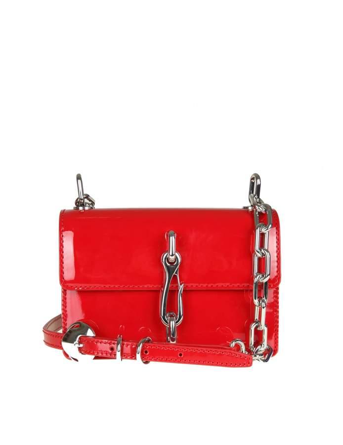 Alexander Wang hook Shoulder Bag In Red Paint