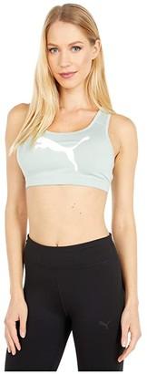 Puma 4Keeps Bra M (Aqua Gray/Pearl Pack) Women's Bra