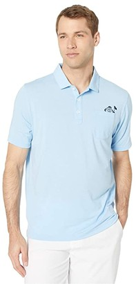 Puma Slow Play Pocket Polo (Blue Bell) Men's Clothing