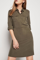 BCBGeneration Pocket Front Shirt Dress