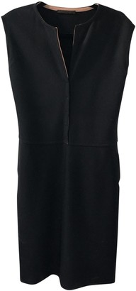 Narciso Rodriguez Black Wool Dress for Women