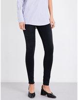 J Brand Ladies Blue 620 Super-Skinny Mid-Rise Jeans