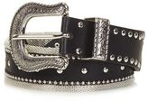 New metal mesh western belt