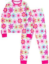Jockey Girls 4-16 Thermal Pajama Set
