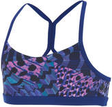 adidas Printed Low-Impact Y-Back Sports Bra, Big Girls