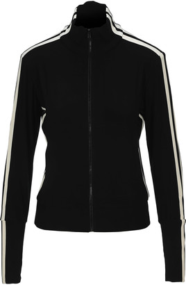 Norma Kamali Side Stripes Track Jacket
