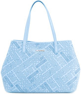 Love Moschino logo embossed tote - women - Polyurethane - One Size