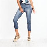 Lucy Indigo High Rise Yoga Capri Legging