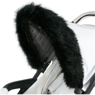 My Babiie Luxurious Faux Fur Pram Hood Trim