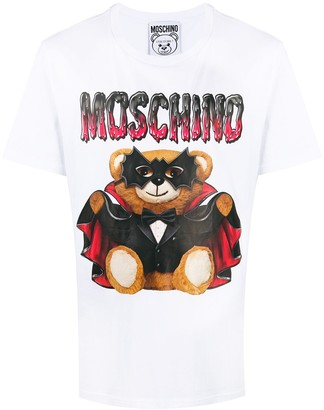Moschino Dracula Bear T-shirt
