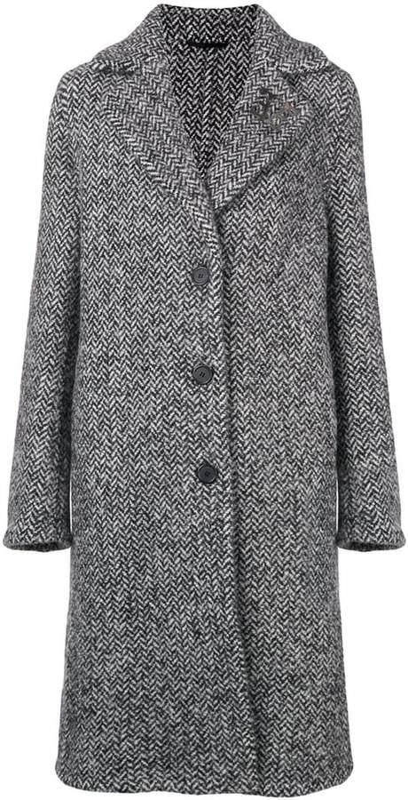Ermanno Scervino herringbone coat