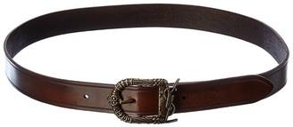 Saint Laurent Celtic Leather Belt
